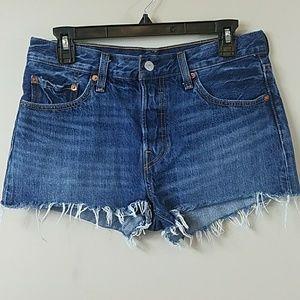 Levi's 501 Cutoff Jean Shorts